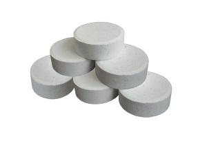 Tabletas cloradoras